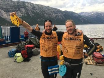 Rockman Swimrun med Daniel Becker
