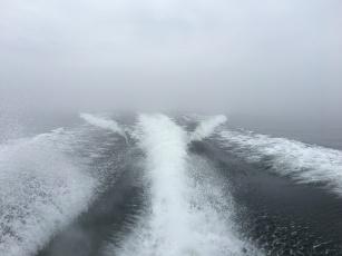 Full fart med Stridsbåt 90.